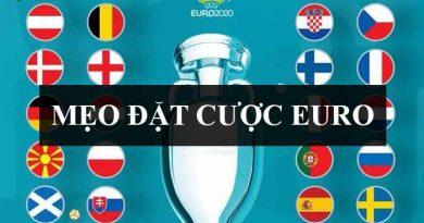 Mẹo đặt cược euro