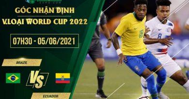 soi kèo Brazil vs Ecuador