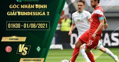 soi kèo Fortuna Dusseldorf vs Bremen