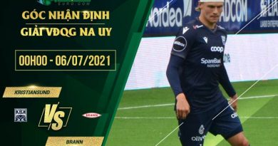 soi kèo Kristiansund vs Brann