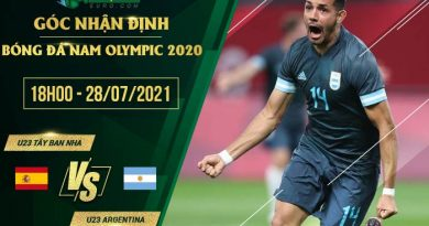 soi kèo U23 Tay Ban Nha vs U23 Argentina