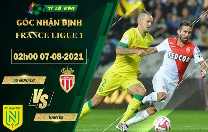 soi kèo AS Monaco vs Nantes