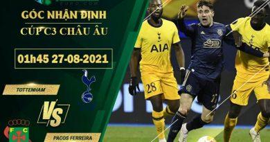 soi kèo Tottenham vs Pacos Ferreira