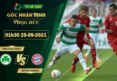 soi kèo Greuther Furth vs Bayern Munich