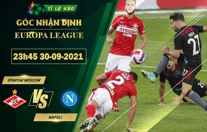 soi kèo Napoli vs Spartak Moscow